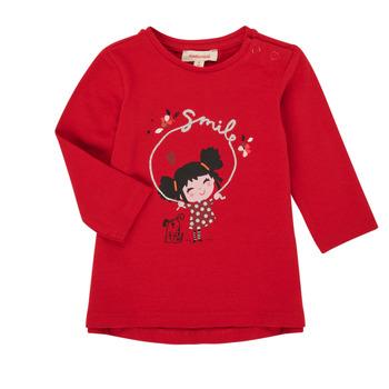 衣服 女孩 长袖T恤 Catimini CR10043-38 红色