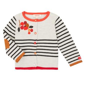 衣服 女孩 羊毛开衫 Catimini CR18003-19 多彩