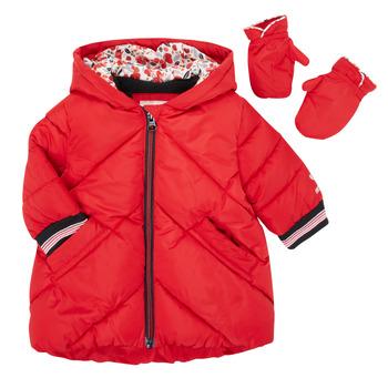 衣服 女孩 羽绒服 Catimini CR42013-38 红色