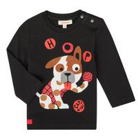 衣服 男孩 长袖T恤 Catimini CR10022-02 黑色