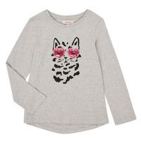 衣服 女孩 长袖T恤 Catimini CR10275-26-J 灰色