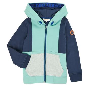 衣服 男孩 羊毛开衫 Catimini CR17044-51-C 蓝色