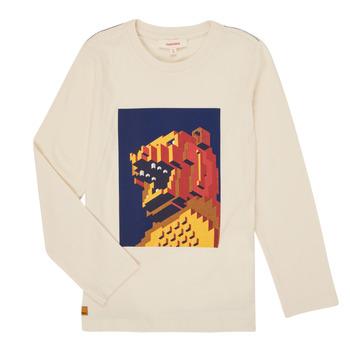 衣服 男孩 长袖T恤 Catimini CR10064-17-C 白色