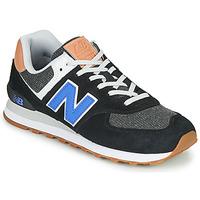 鞋子 男士 球鞋基本款 New Balance新百伦 574 黑色 / 蓝色