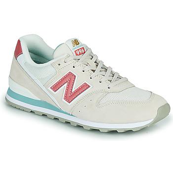 鞋子 女士 球鞋基本款 New Balance新百伦 996 米色 / 玫瑰色