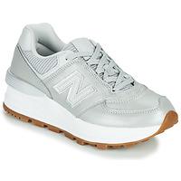 鞋子 女士 球鞋基本款 New Balance新百伦 574 灰色