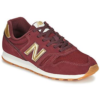 鞋子 女士 球鞋基本款 New Balance新百伦 373 波尔多红