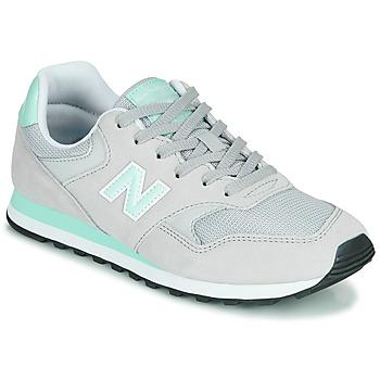 鞋子 女士 球鞋基本款 New Balance新百伦 393 灰色