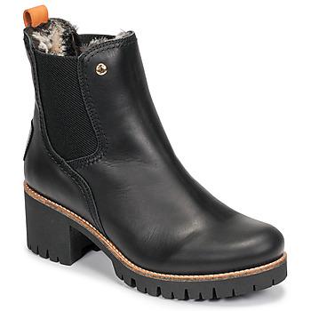鞋子 女士 短筒靴 Panama Jack 巴拿马 杰克 PIA 黑色