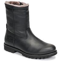 鞋子 男士 短筒靴 Panama Jack 巴拿马 杰克 FEDRO 黑色