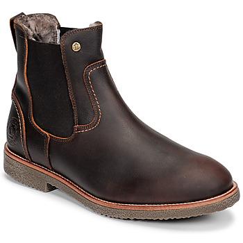 鞋子 男士 短筒靴 Panama Jack 巴拿马 杰克 GARNOCK 棕色