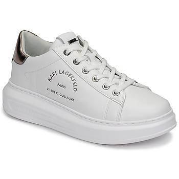 鞋子 女士 球鞋基本款 KARL LAGERFELD KAPRI Maison Karl Lace 白色