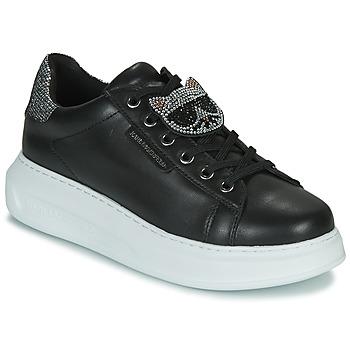鞋子 女士 球鞋基本款 KARL LAGERFELD KAPRI IKONIC TWIN LO LACE 黑色