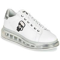 鞋子 女士 球鞋基本款 KARL LAGERFELD KAPRI KUSHION Karl Ikonic Lo Lace 白色 / 银灰色