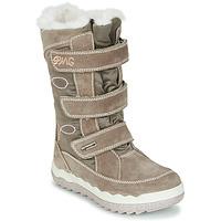 鞋子 女孩 雪地靴 Primigi FROZEN GTX 米色 / 棕色