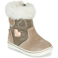 鞋子 女孩 短筒靴 Primigi SNORKY GTX 棕色