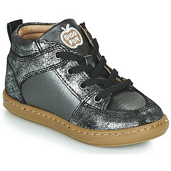 鞋子 女孩 高帮鞋 SHOO POM by Pom d'Api BOUBA GANG 银灰色