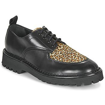 鞋子 女士 德比 Kenzo K MOUNT 黑色 / Leopard