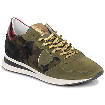 鞋子 女士 球鞋基本款 PHILIPPE MODEL TROPEZ 迷彩