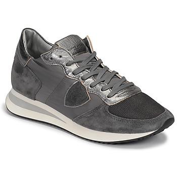 鞋子 女士 球鞋基本款 PHILIPPE MODEL TROPEZ 灰色