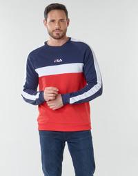 衣服 男士 卫衣 Fila CREW SWEATER 蓝色 / 白色 / 红色