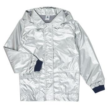 衣服 女孩 棉衣 Petit Bateau 小帆船 LAETICIA 银色