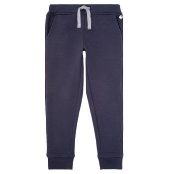 衣服 男孩 厚裤子 Petit Bateau 小帆船 LOMINIKO 海蓝色