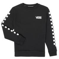 衣服 儿童 卫衣 Vans 范斯 EXPOSITION CHECK CREW 黑色