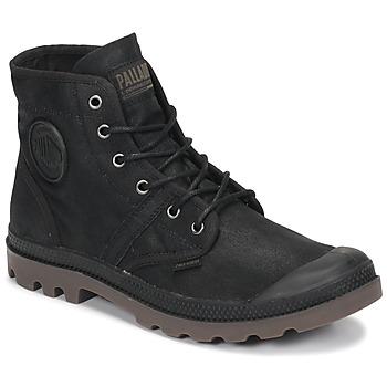 鞋子 短筒靴 Palladium 帕拉丁 PALLABROUSE WAX 黑色