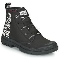 鞋子 短筒靴 Palladium 帕拉丁 PAMPA HI FUTURE 黑色