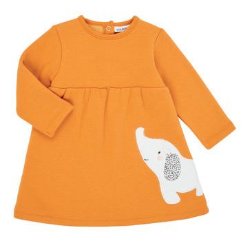 衣服 女孩 短裙 Noukie's Z050083 橙色