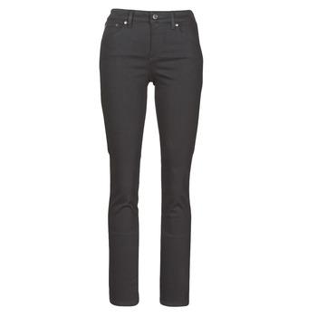 衣服 女士 直筒牛仔裤 Lauren Ralph Lauren PRM STRAIGHT 黑色