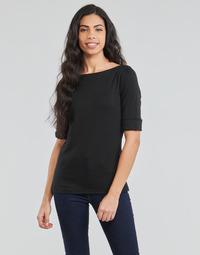 衣服 女士 长袖T恤 Lauren Ralph Lauren JUDY 黑色