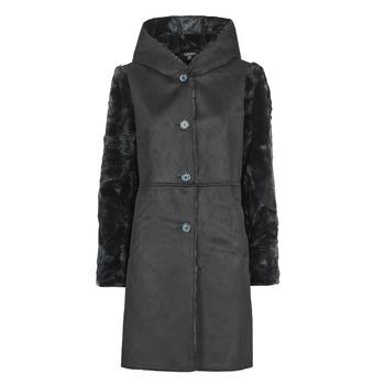 衣服 女士 大衣 Lauren Ralph Lauren COMBO FX SH-COAT 黑色