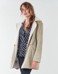 衣服 女士 大衣 Lauren Ralph Lauren RVRSBL FXSH-COAT 驼色