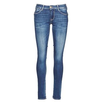 衣服 女士 紧身牛仔裤 Le Temps des Cerises PULP 蓝色