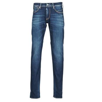 衣服 男士 直筒牛仔裤 Le Temps des Cerises 812 BASIC 蓝色