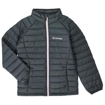 衣服 女孩 羽绒服 Columbia 哥伦比亚 POWDER LITE JACKET 黑色