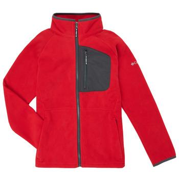 衣服 男孩 抓绒衣 Columbia 哥伦比亚 FAST TREK 红色