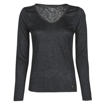 衣服 女士 长袖T恤 Les P'tites Bombes ADRIANA 黑色