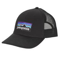 纺织配件 男士 鸭舌帽 Patagonia 巴塔哥尼亚 P-6 LOGO LOPRO TRUCKER HAT 黑色