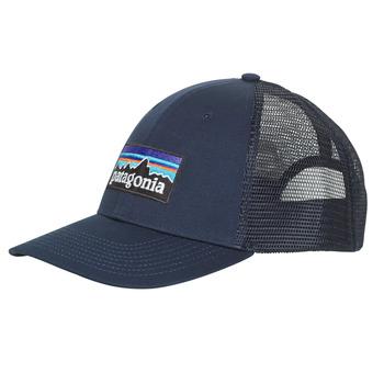 纺织配件 男士 鸭舌帽 Patagonia 巴塔哥尼亚 P-6 LOGO LOPRO TRUCKER HAT 海蓝色