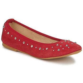 鞋子 女士 平底鞋 Meline LUSON 红色