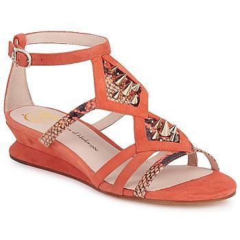 鞋子 女士 凉鞋 House of Harlow 1960 哈露时装屋 CELINEY 珊瑚色