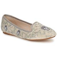 鞋子 女士 皮便鞋 House of Harlow 1960 哈露时装屋 ZENITH 米色 / 灰色