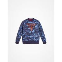 衣服 男孩 卫衣 Guess L0YQ01-K82T0-PC74 蓝色