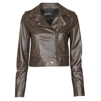 衣服 女士 皮夹克/ 人造皮革夹克 Oakwood YOKO 棕色