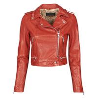 衣服 女士 皮夹克/ 人造皮革夹克 Oakwood KYOTO 红色