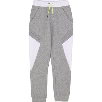 衣服 男孩 厚裤子 BOSS J24664 灰色