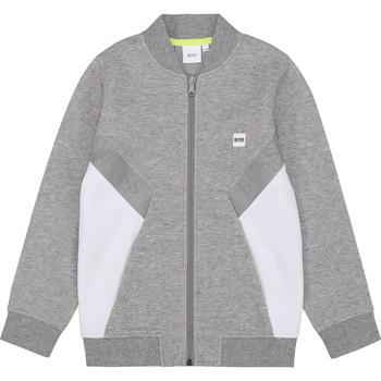 衣服 男孩 卫衣 BOSS J25G80 灰色